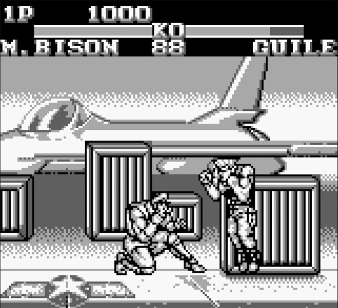 Game Boy Version of Street Fighter 2