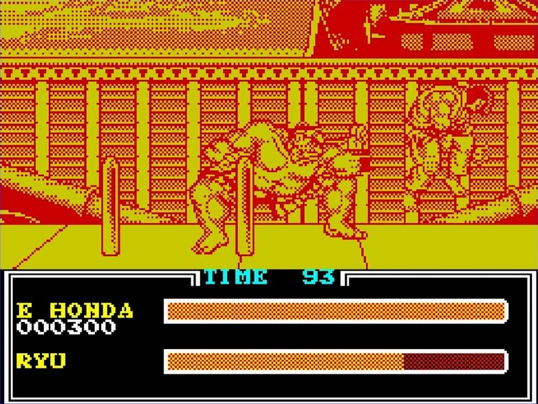 ZX Spectrum Version of Street Fighter 2