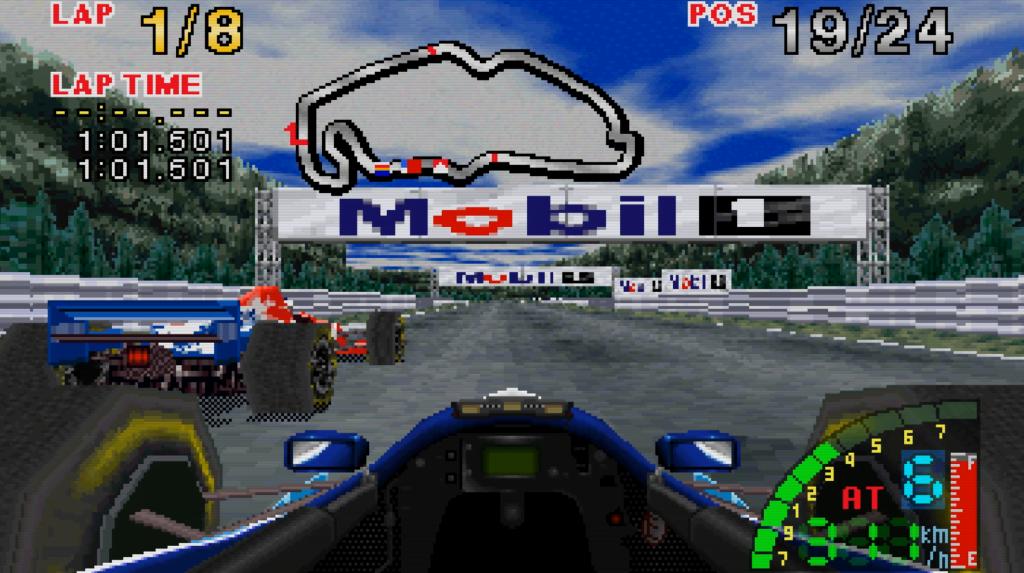 F1 Challenge - Sega Saturn