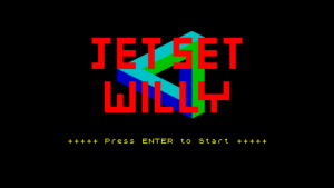 Jet Set Willy Title Screen