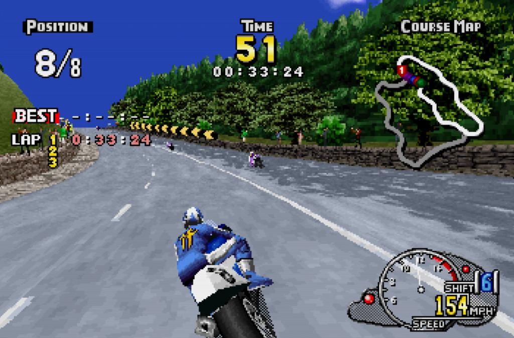 Manx TT Superbike- Sega Saturn
