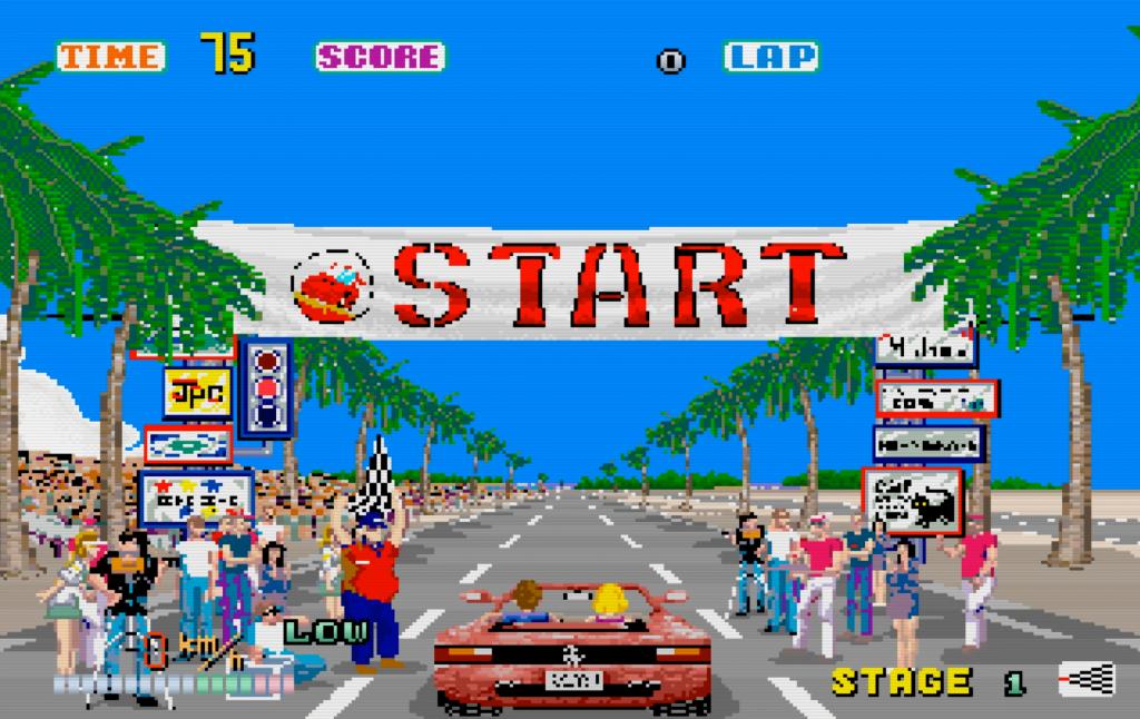 OutRun - Sega Saturn