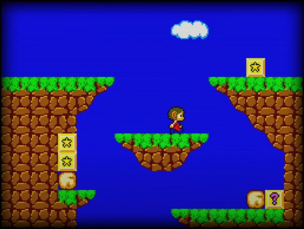 Sega Master System - Alex Kidd in Miracle World