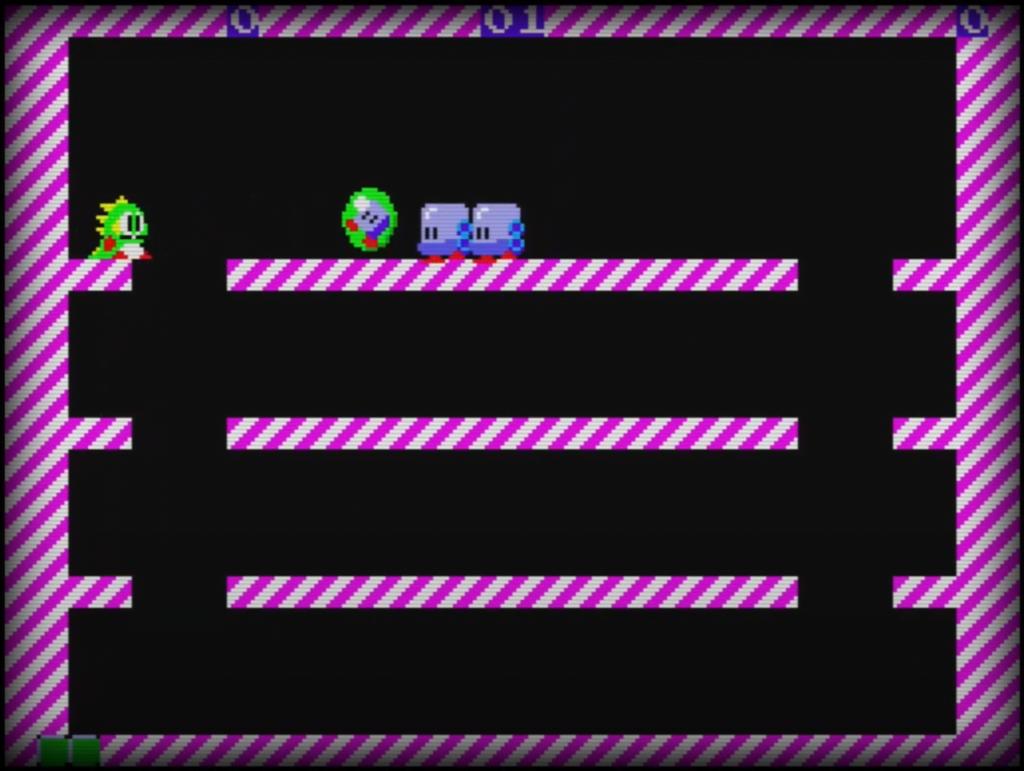 Sega Master System - Bubble Bobble