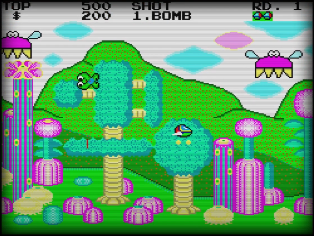 Sega Master System - Fantasy Zone