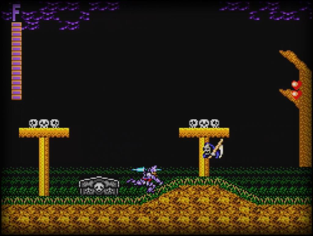 Sega Master System - Ghouls'n Ghosts