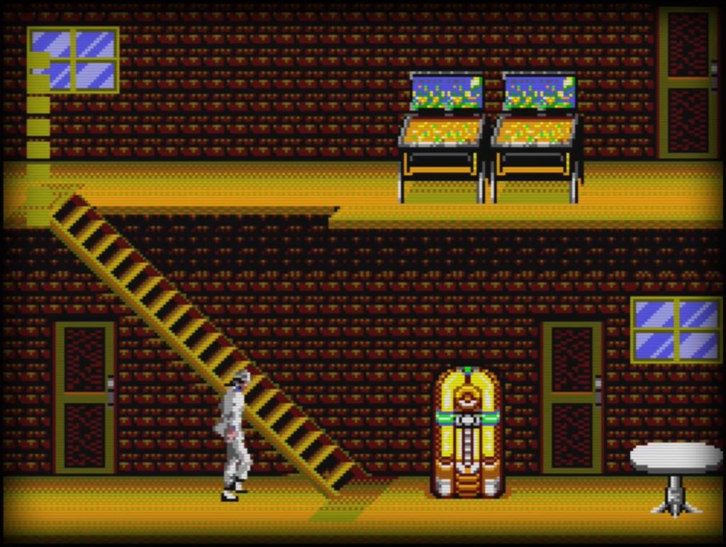 Sega Master System - Michael Jackson's Moonwalker