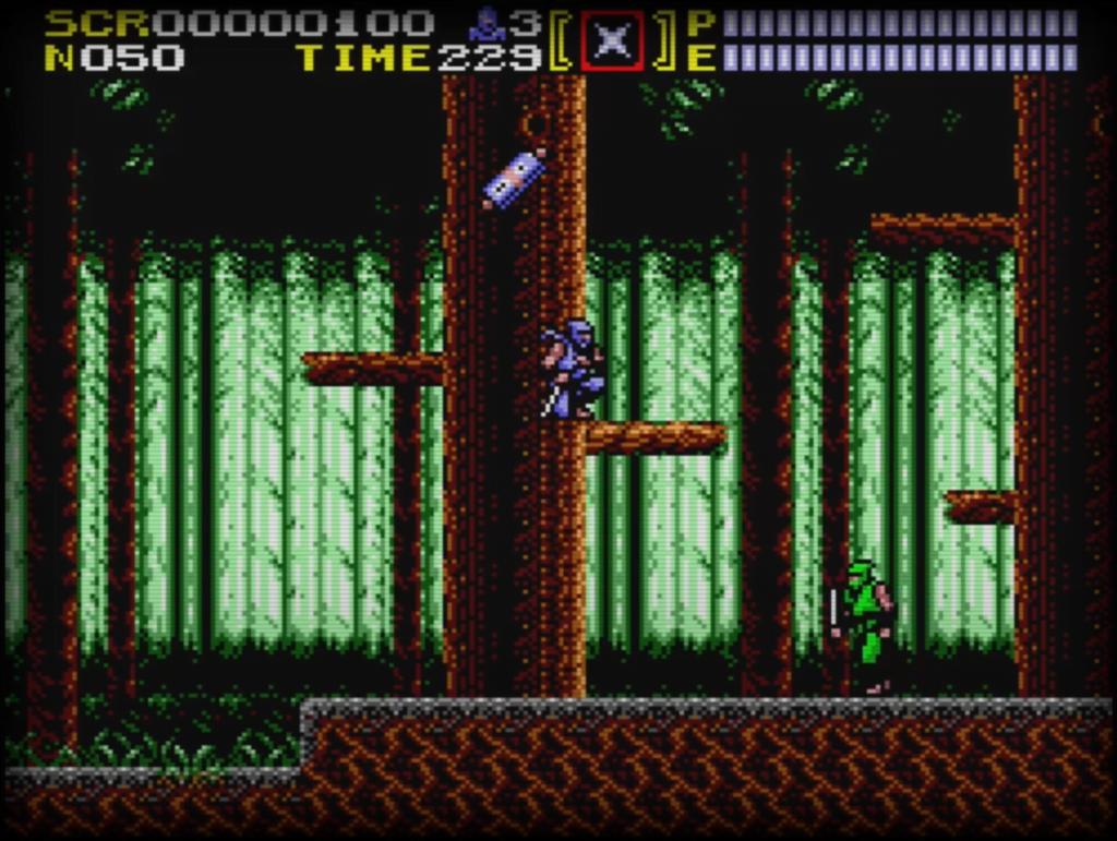 Sega Master System - Ninja Gaiden