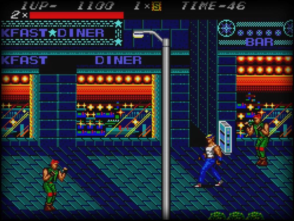 Sega Master System - Street's of Rage