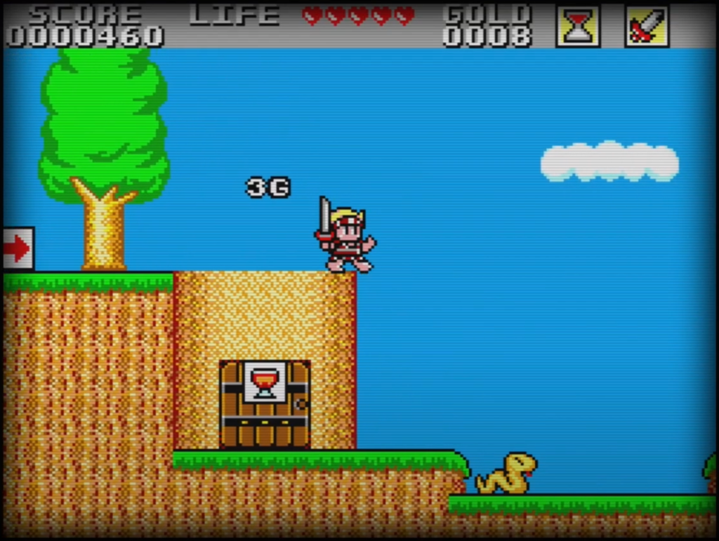 Sega Master System - Wonder Boy in Monster Land