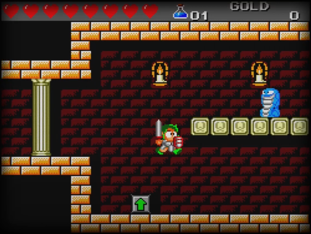 Sega Master System - Wonderboy III The Dragon's Trap