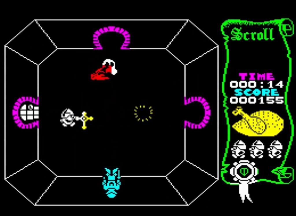 ZX Spectrum - Atic Atac