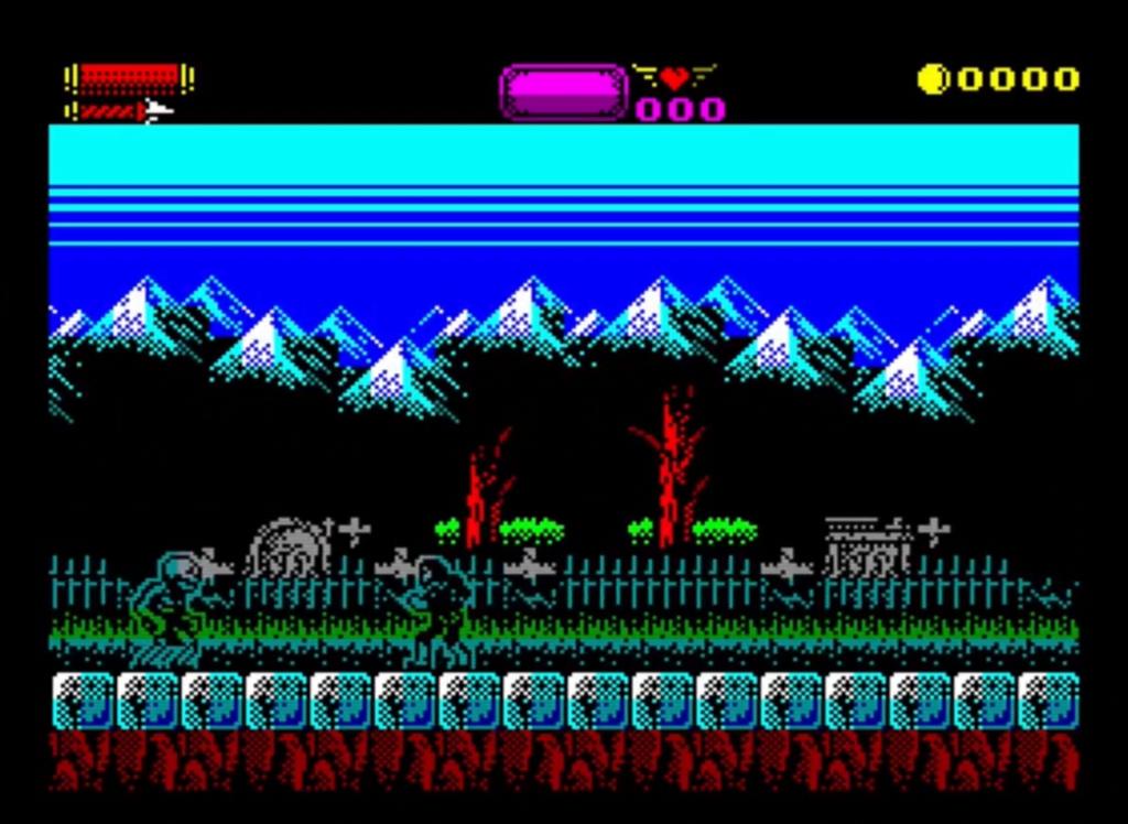 ZX Spectrum - Castlevania Spectral Interlude