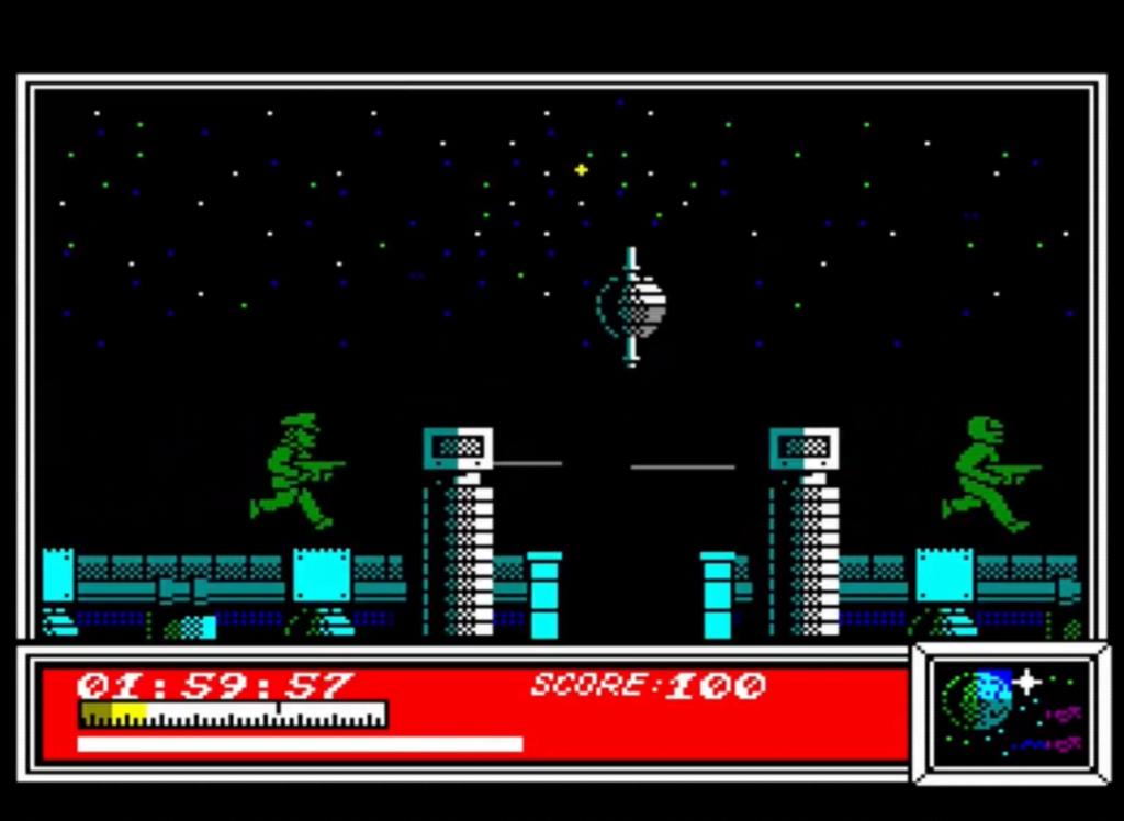 ZX Spectrum - Dan Dare