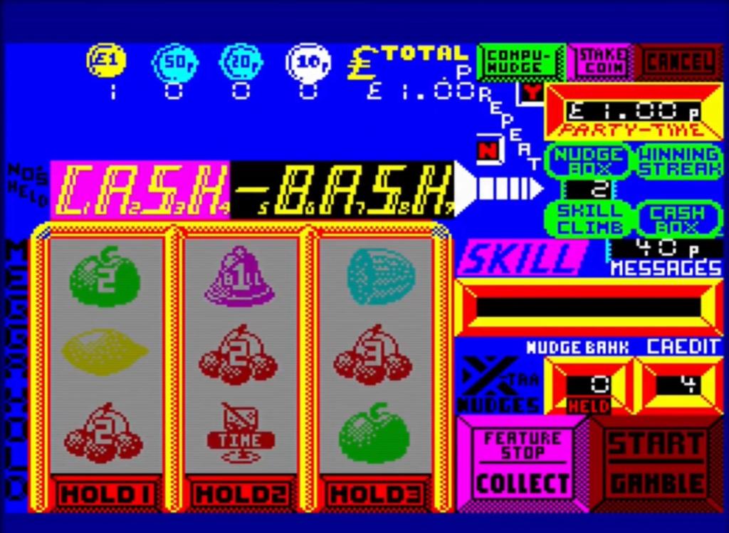 ZX Spectrum - Fruit Machine Simulator