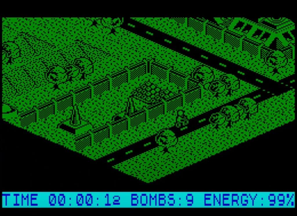 ZX Spectrum - Glider Rider