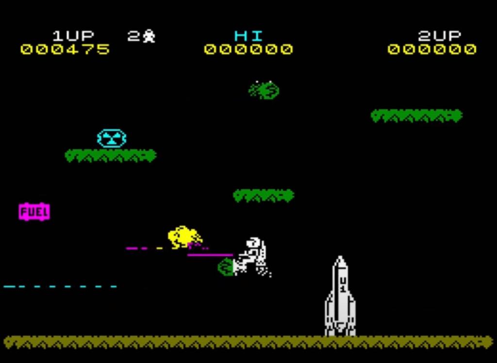 ZX Spectrum - Jetpac