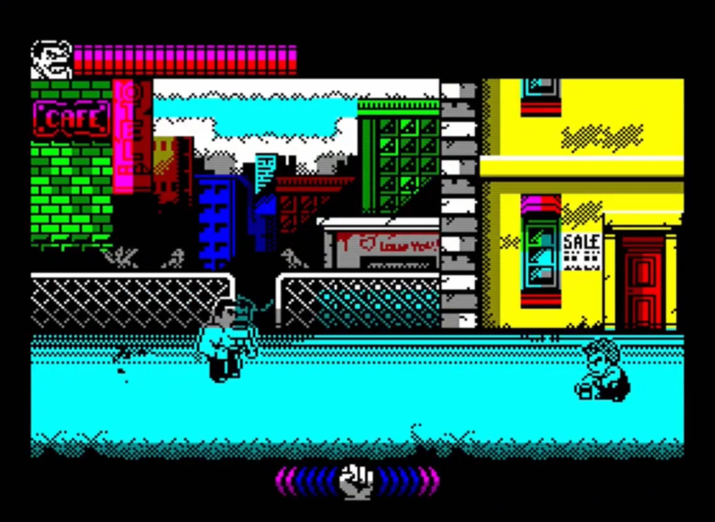 ZX Spectrum - Mighty Final Fight