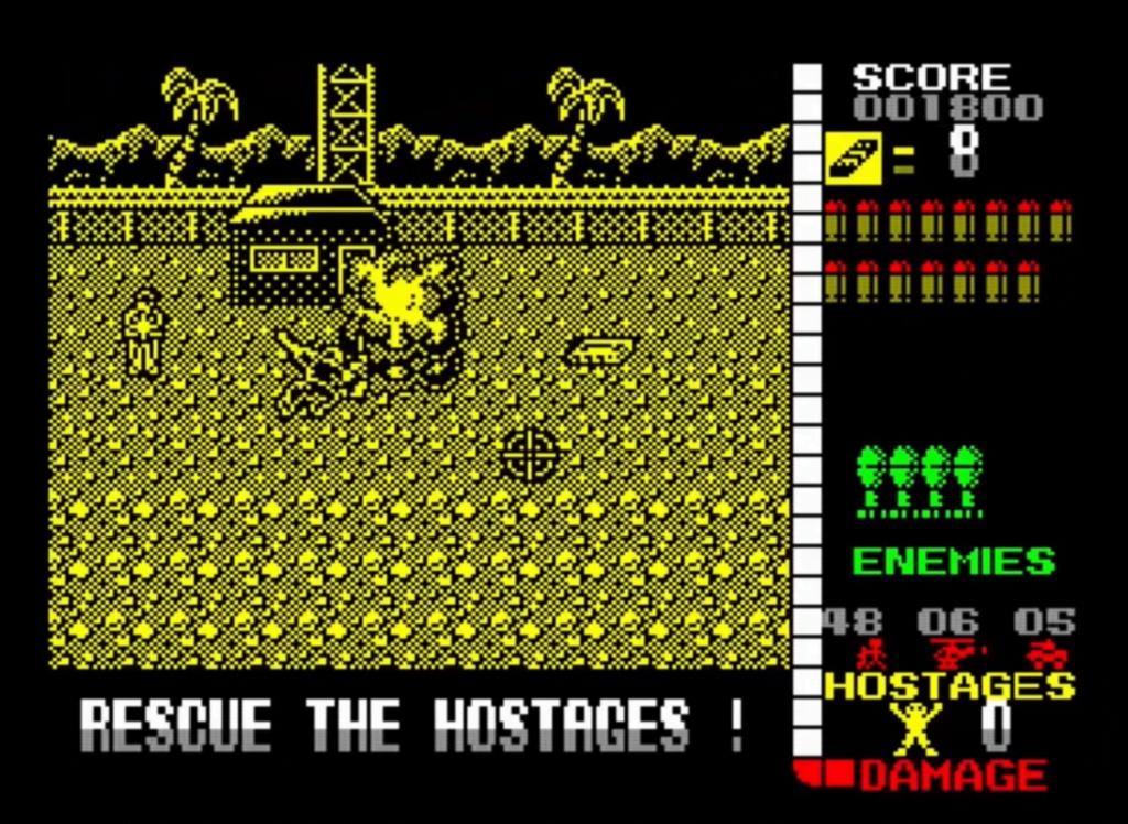 ZX Spectrum - Operation Wolf