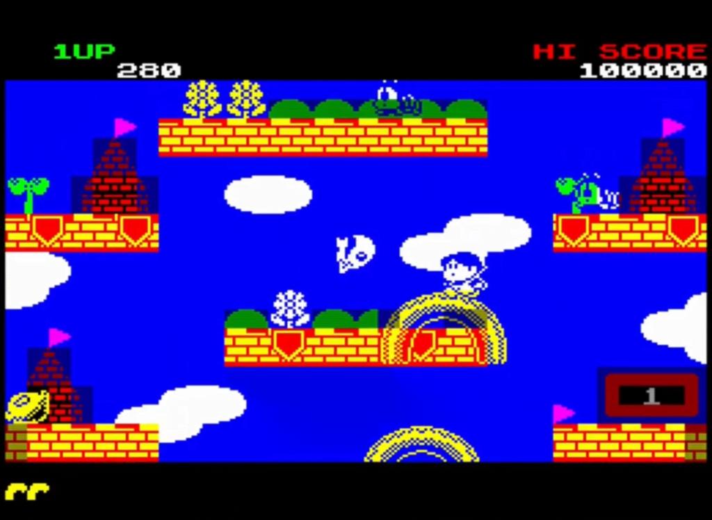 ZX Spectrum - Rainbow Islands