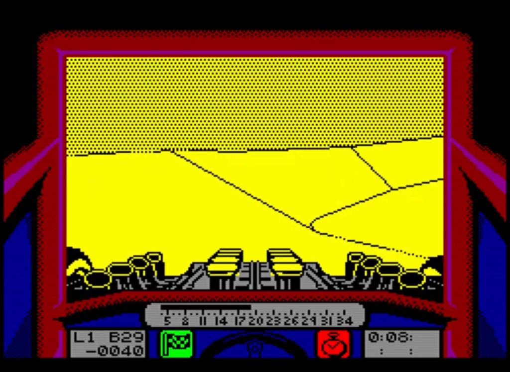 ZX Spectrum - Stunt Car Racer
