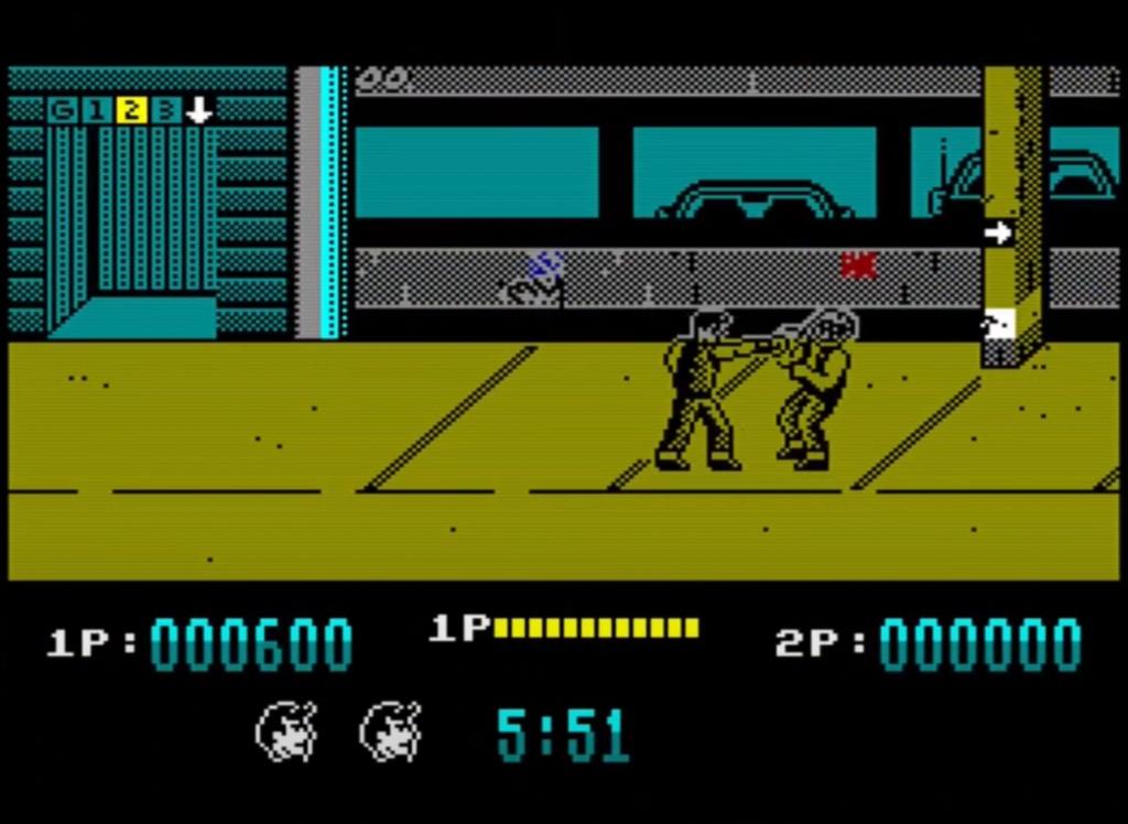 ZX Spectrum - Target Renegade