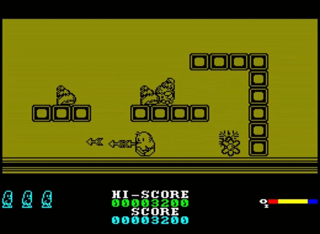ZX Spectrum - The New Zealand Story
