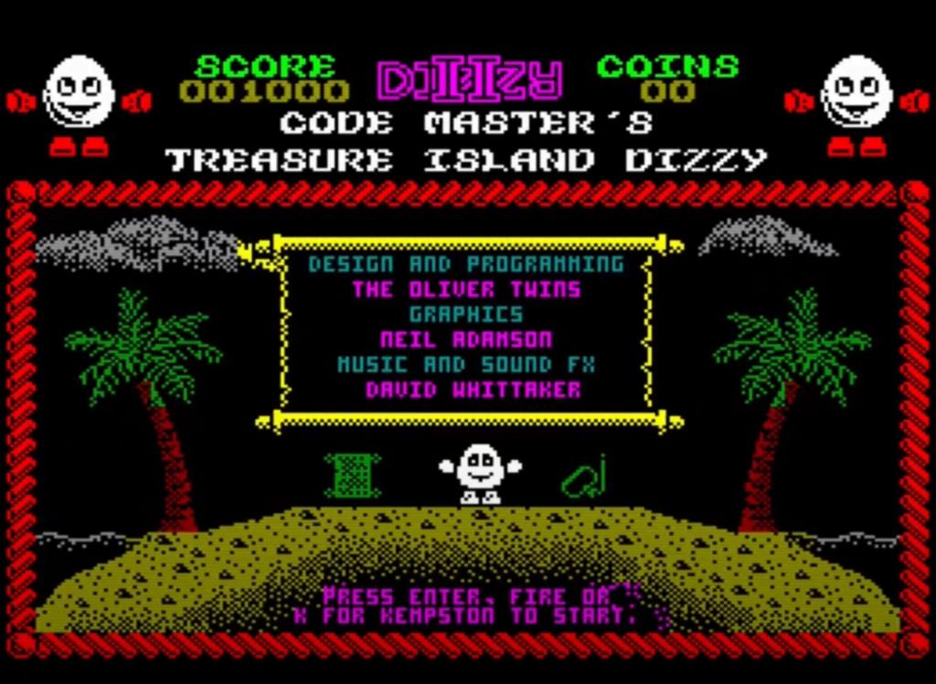 ZX Spectrum - Treasure Island Dizzy