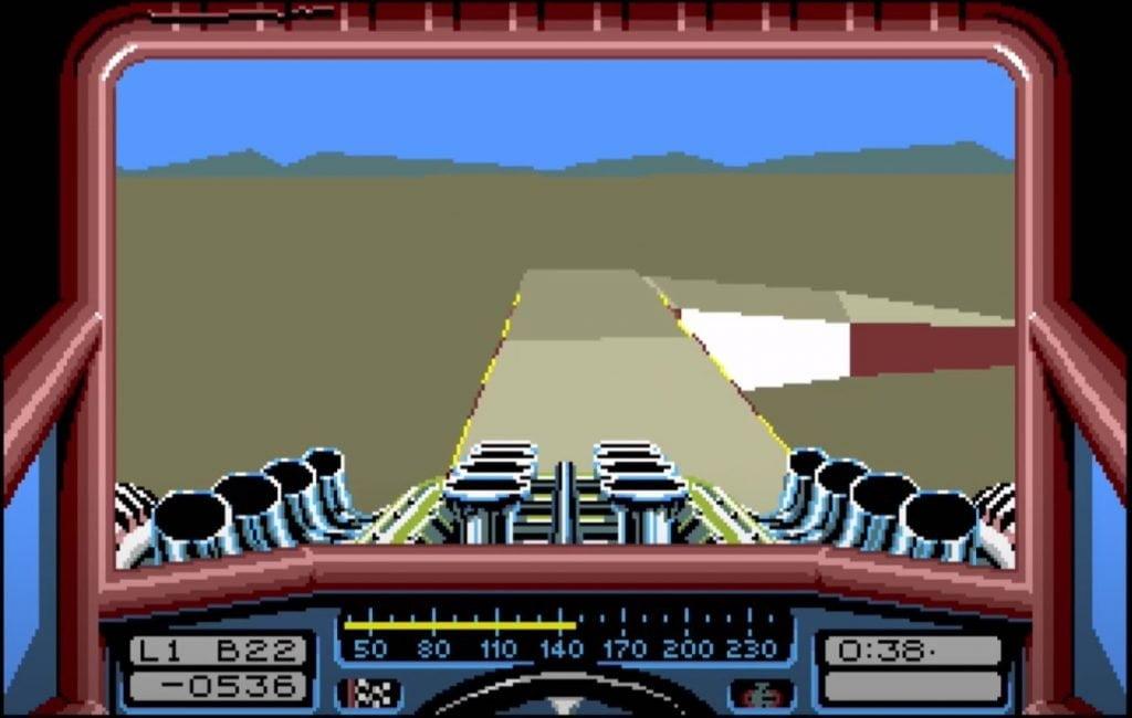 Amiga - Stunt Car Racer