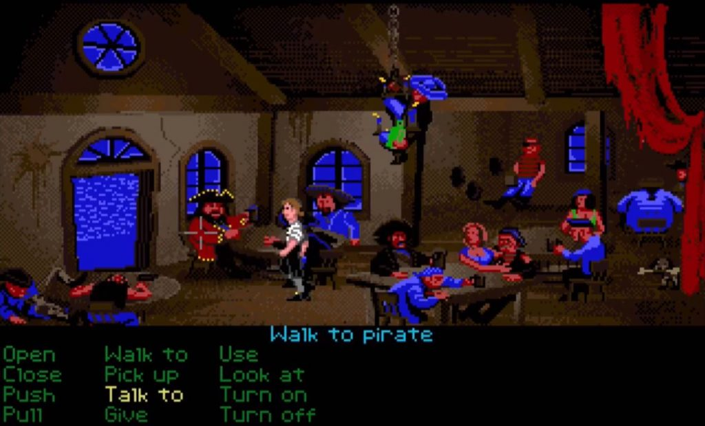 Amiga - The Secret of Monkey Island