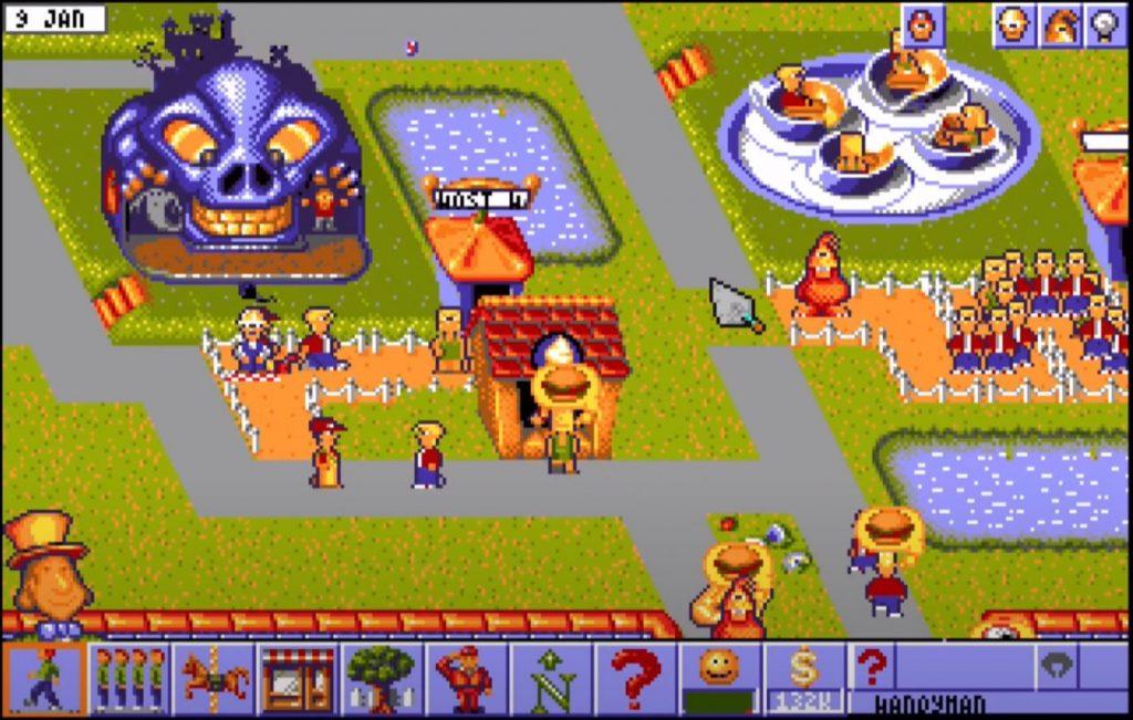 Amiga - Theme Park