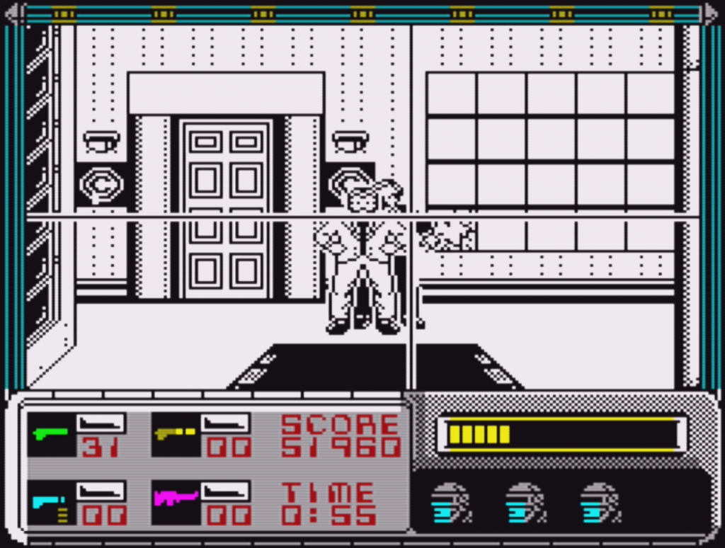 RoboCop ZX Spectrum Dick Jones