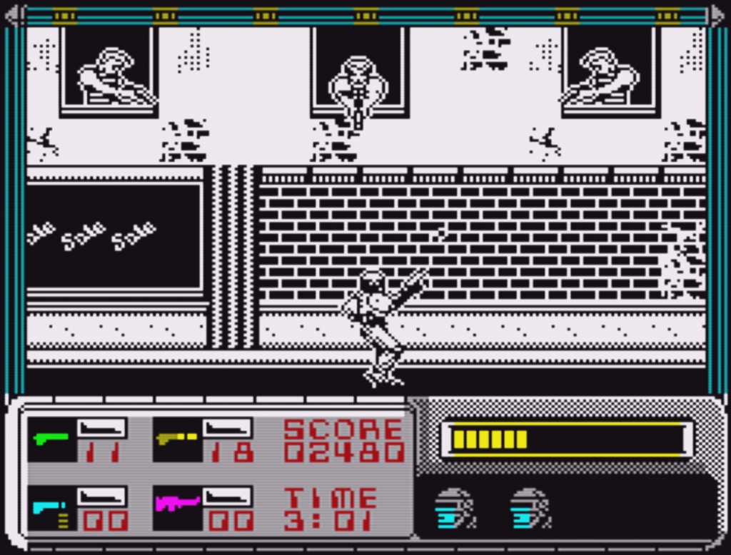 RoboCop ZX Spectrum in Game