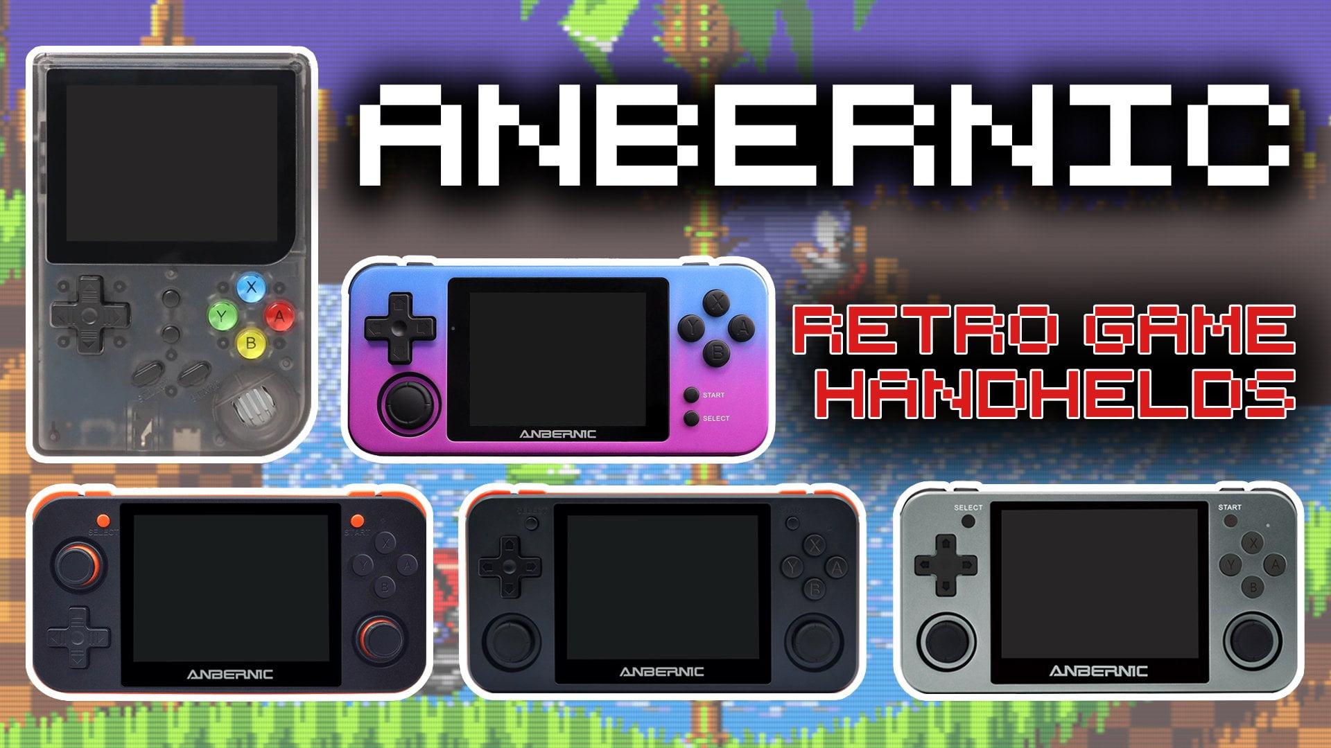 Anbernic Retro Handheld Consoles