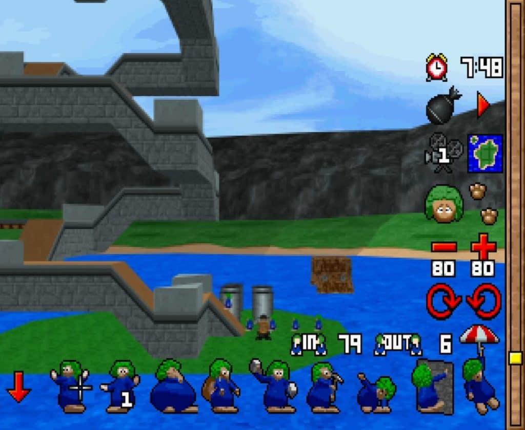 3D Lemmings PlayStation