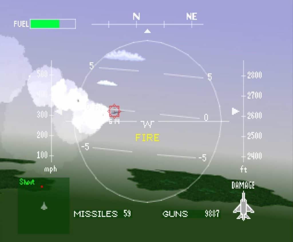 Air Combat PlayStation