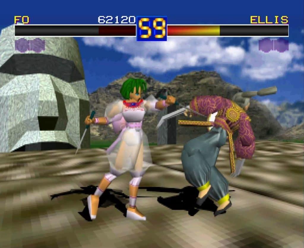 Battle Arena Toshinden PlayStation