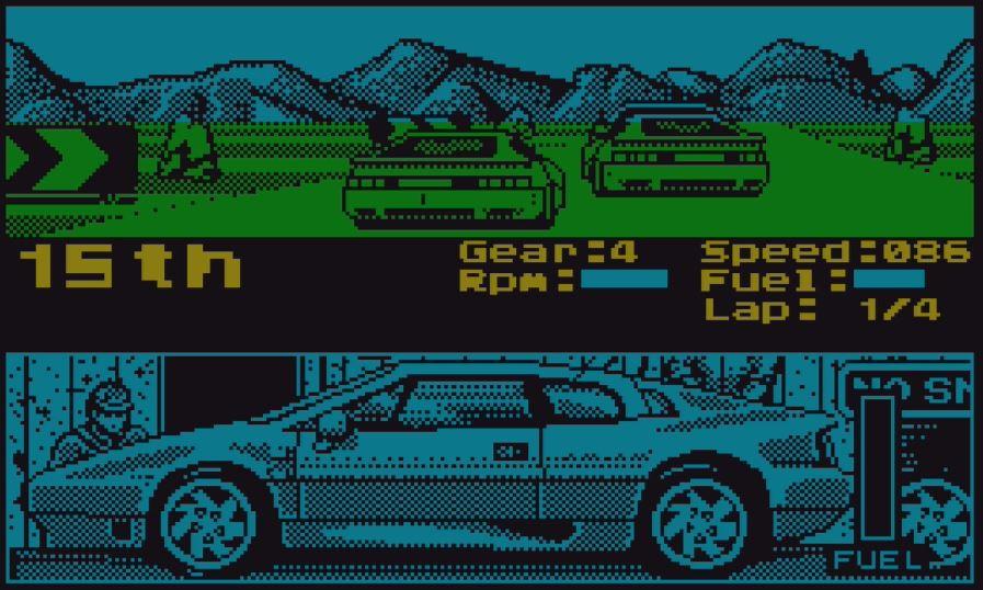 Lotus Esprit Turbo Challenge Screenshot