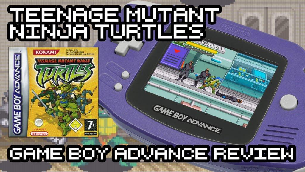 TMNT - Game Boy Advance Review