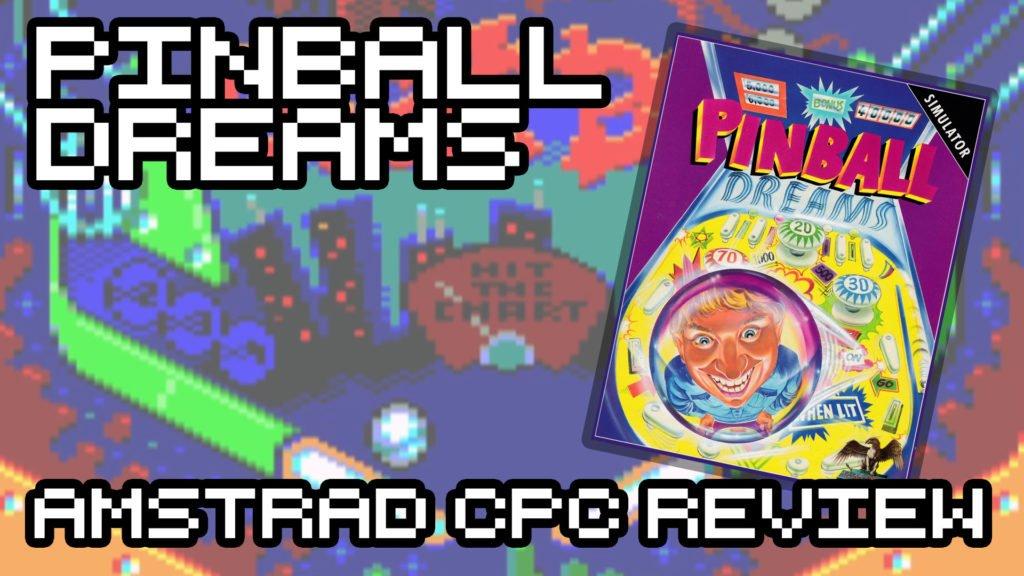 Pinball Dreams Amstrad CPC Review