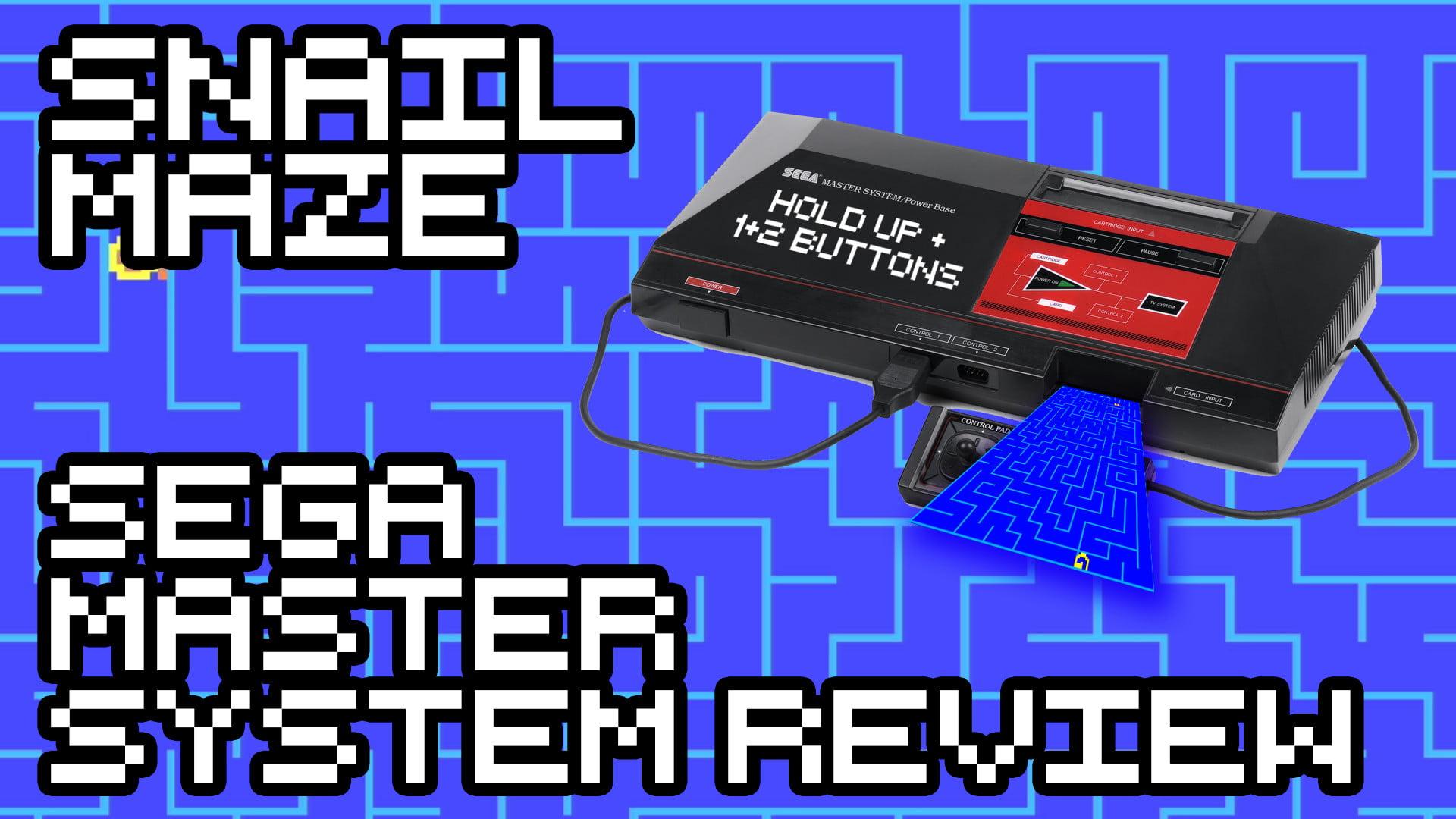 Snail Maze – Sega Master System Review