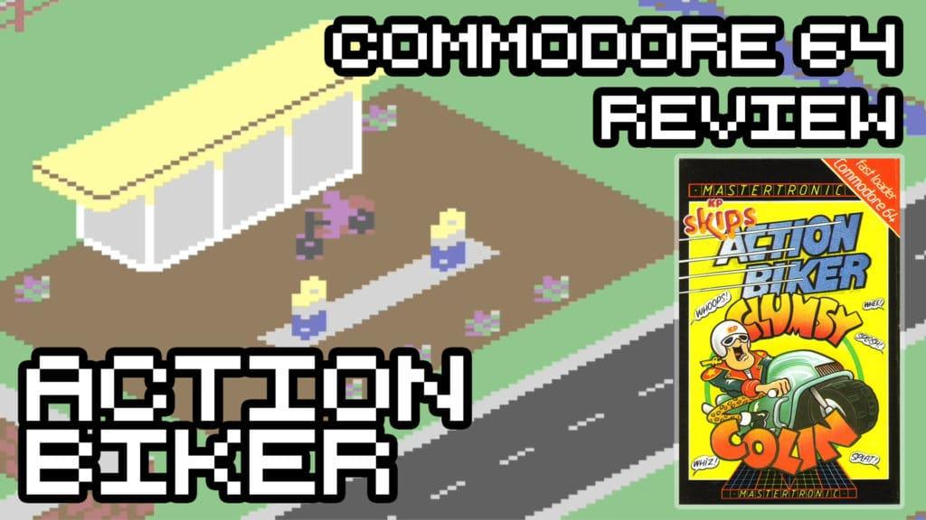 Action Biker - Commodore 64