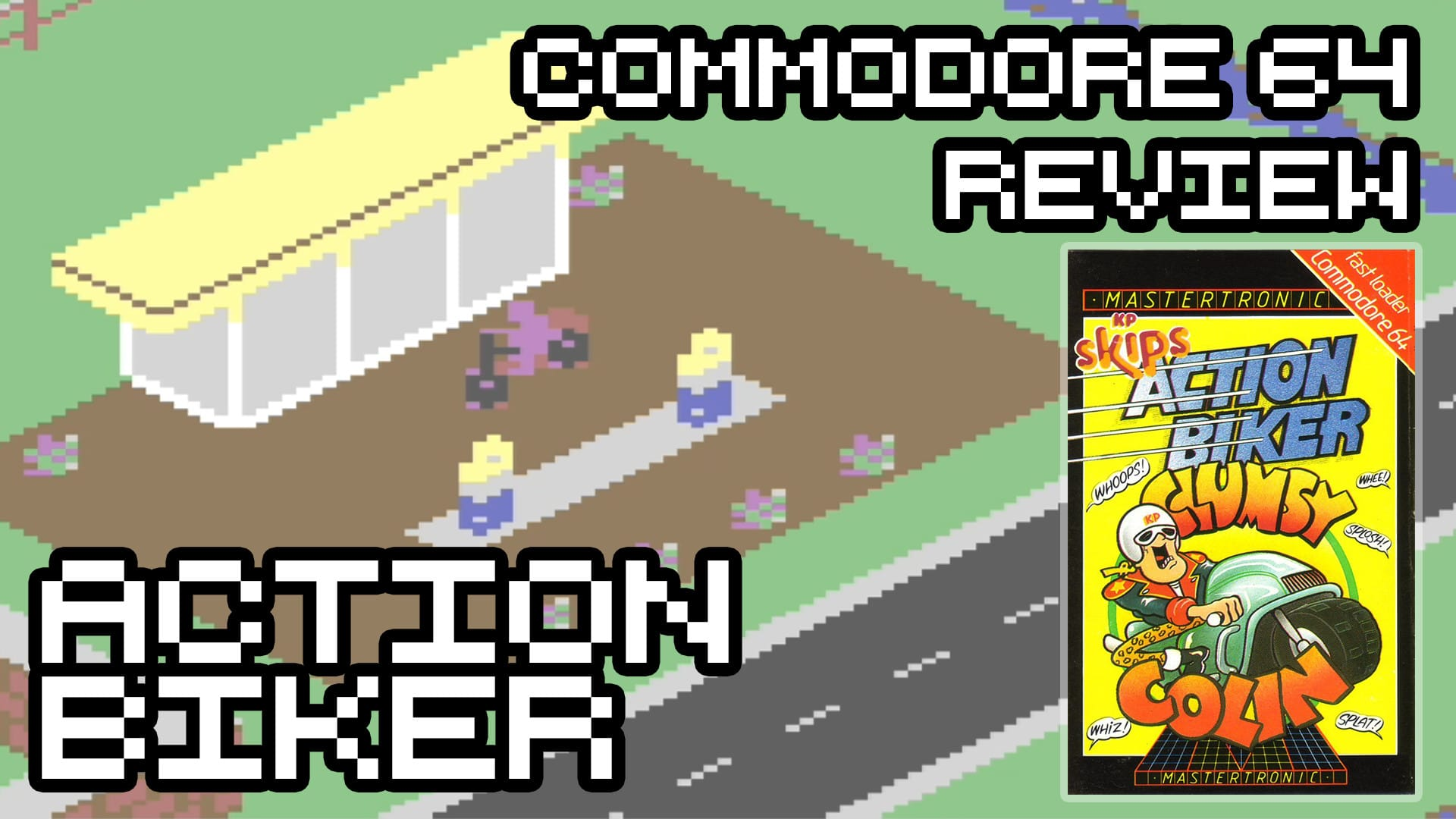 Action Biker – Commodore 64 Review