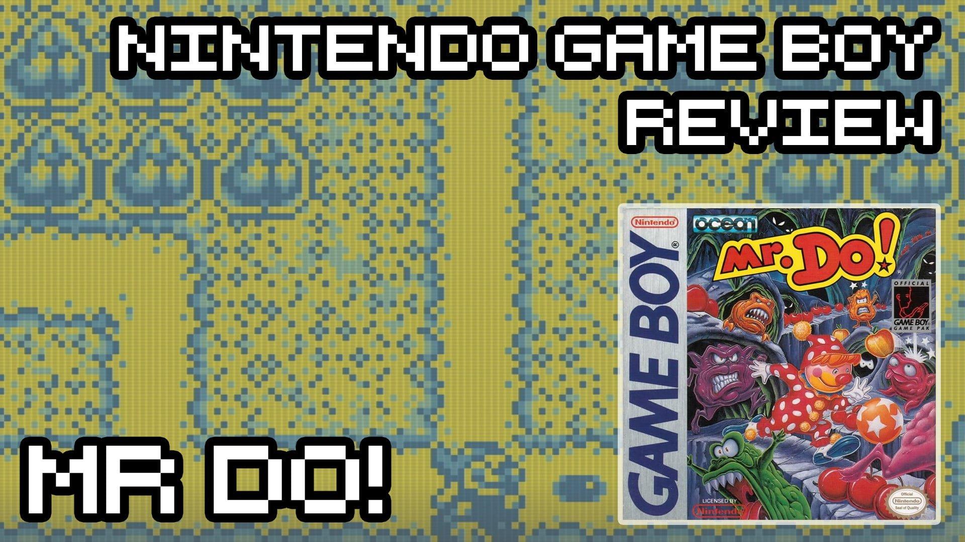 Mr Do! – Game Boy Review