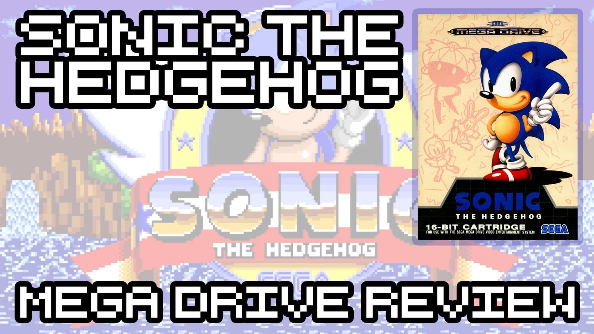 Sonic The Hedgehog – Sega Mega Drive Review