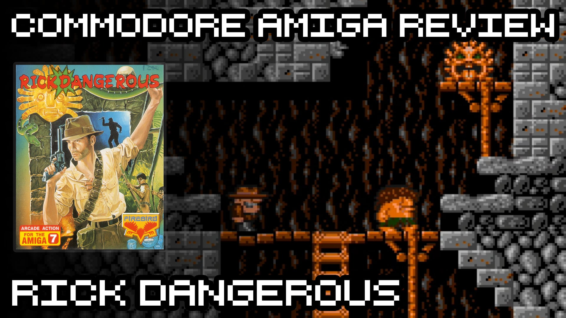 Rick Dangerous – Commodore Amiga Review
