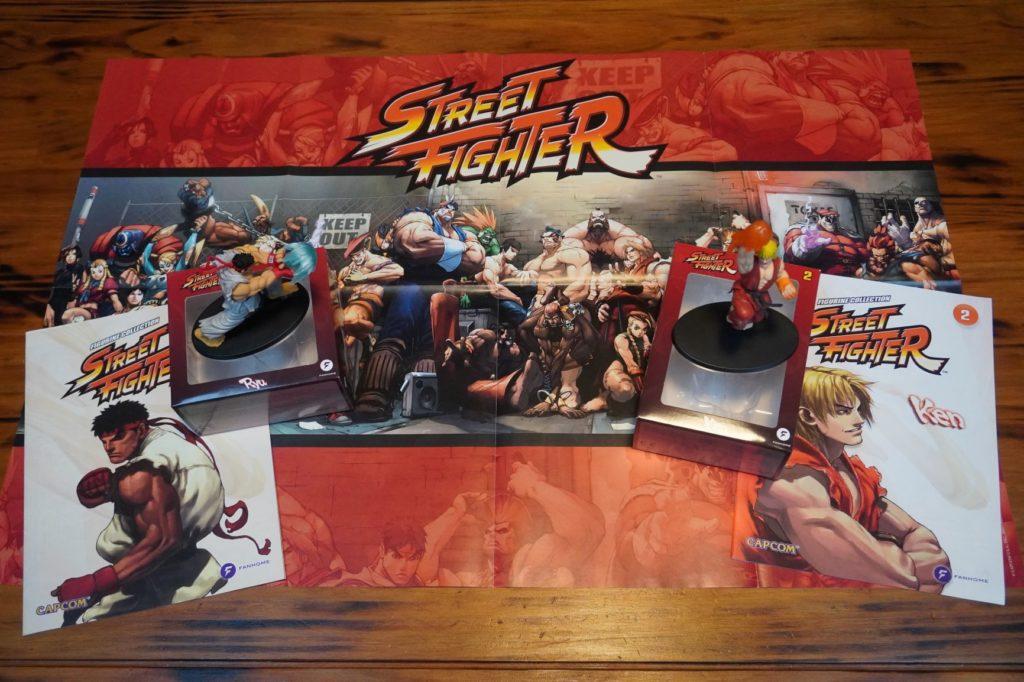 Fanhome Street Fighter Ryu & Ken