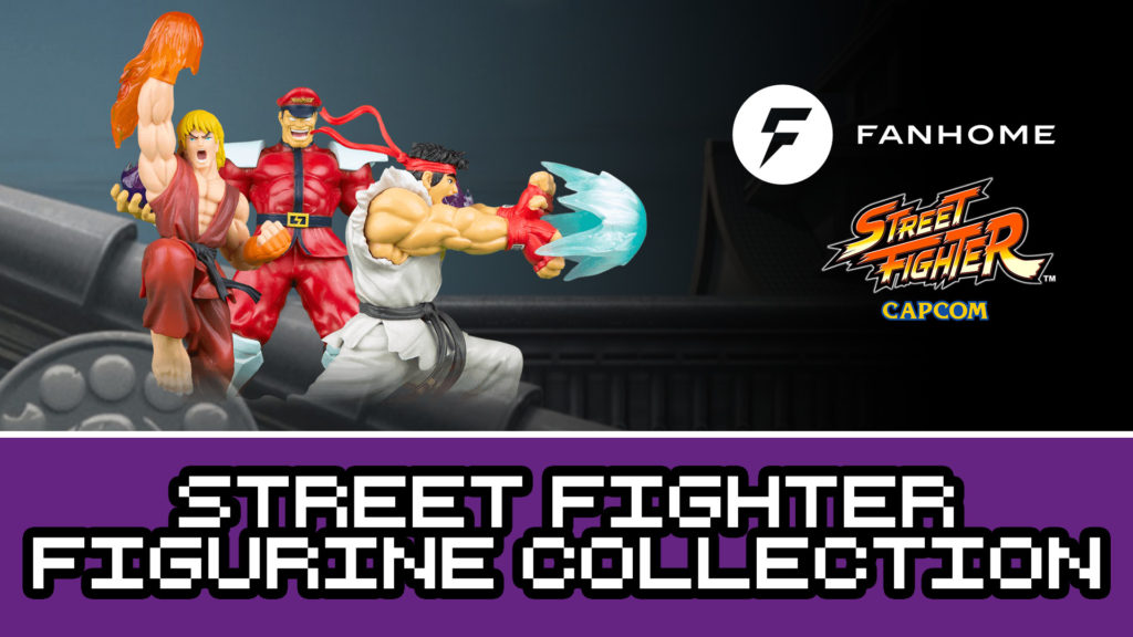 Fanhome Street Fighter Figure Collection