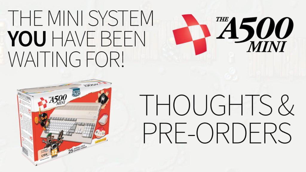A500 Mini Pre-order