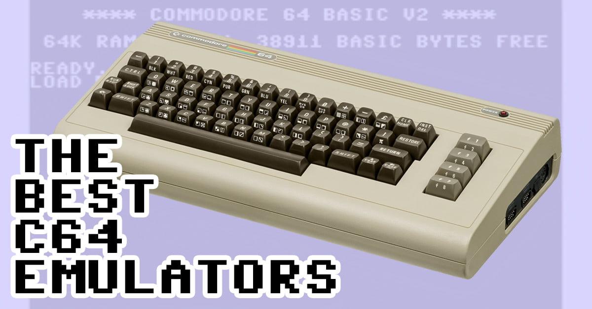 Best C64 Emulators